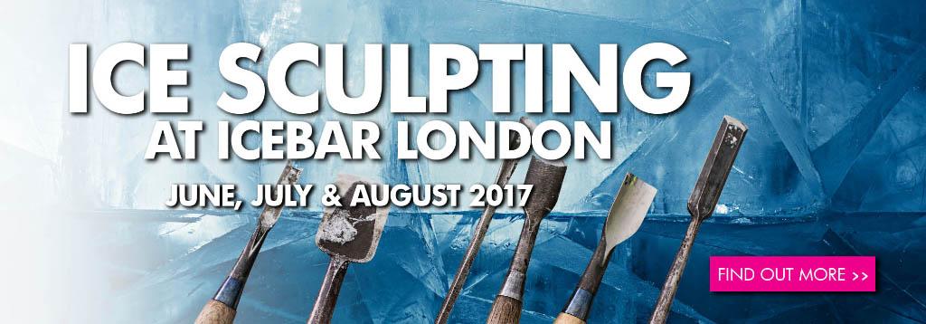 Ice sculpting - ICEBAR LONDON