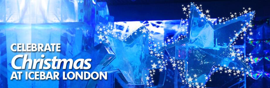 Christmas at ICEBAR LONDON