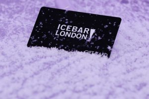 Need an original present for a friend or family member? Then look no further than Icebar London gift cards!